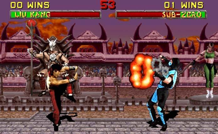 Mortal Kombat 2 adicionou novos lutadores e arenas (Foto: Reprodução)
