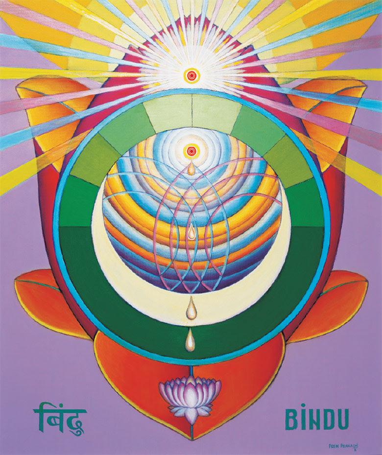 Risultati immagini per bindu chakra