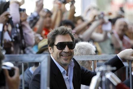 Javier Barden, marido da atriz, esteve presente