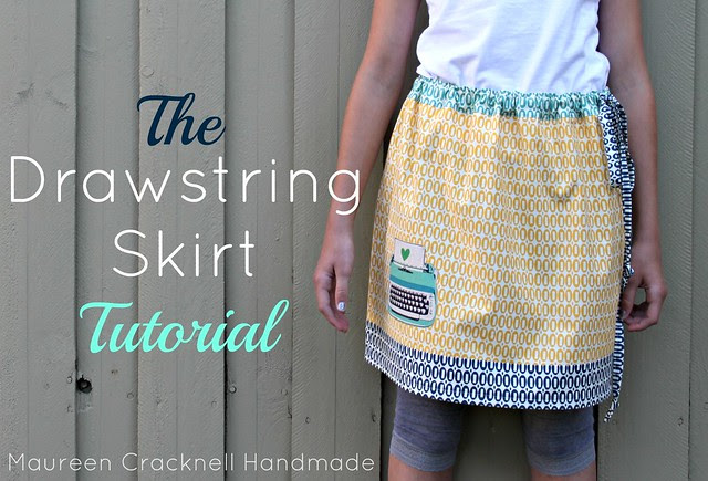 The Drawstring Skirt Tutorial