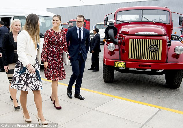 Victoria is expecting her second child with husband Prince Daniel, a former personal tyrainer
