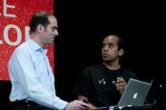 Arun Gupta and Roberto Chinnici, JavaOne Technical General Session, JavaOne + Develop 2010 San Francisco