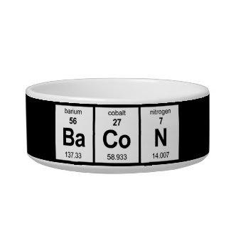 BaCoNl Cat Food Bowl