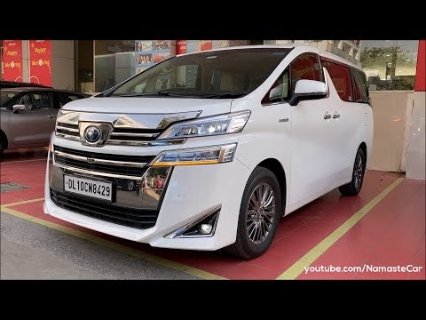 Toyota Vellfire Hybrid Executive Lounge- ₹97 lakh | Real-life review