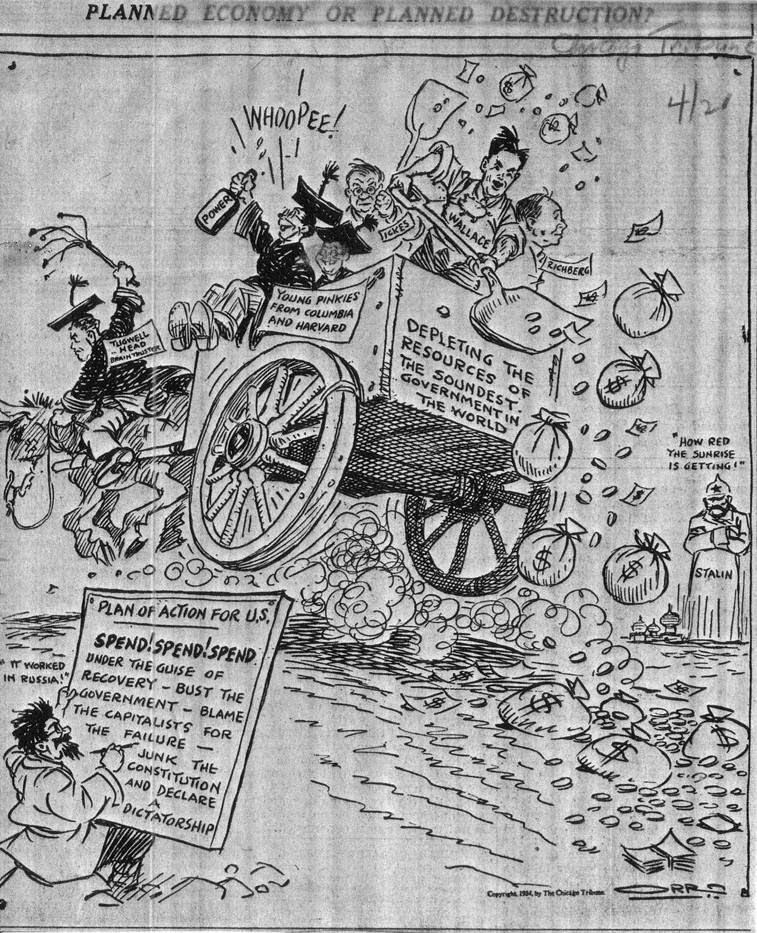 A cartoon from 1934.
