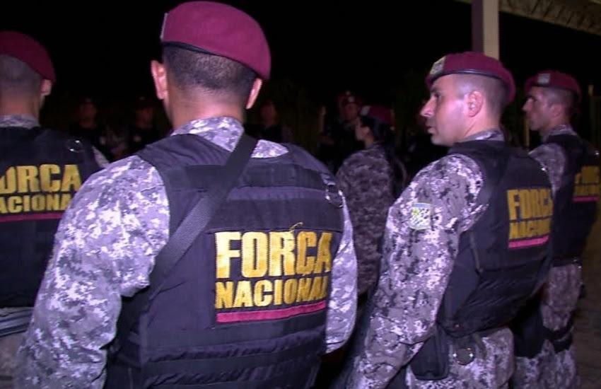 As eleições municipais de 2016 em Fortaleza contaram com tropas federais (FOTO: Reprodução/ TV Jangadeiro)