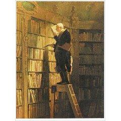 Carl Spitzweg Kunstdruck Der Bücherwurm