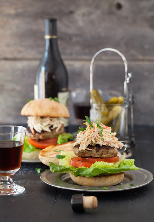 Burger and Coleslaw 1