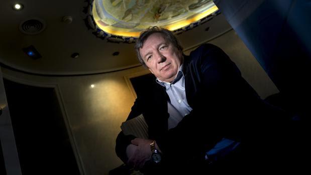 Viatcheslav Mukhanov, en la Fundación BBVA en Madrid