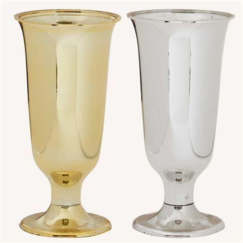 "8""x4"" Met. Plastic Vase   Floral Supply Syndicate   Floral"