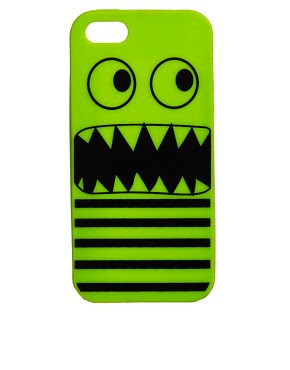 Image 1 of ASOS iPhone 5 Jelly Monster Case