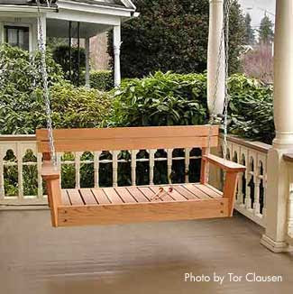 Porch Swings | Front Porch Swing