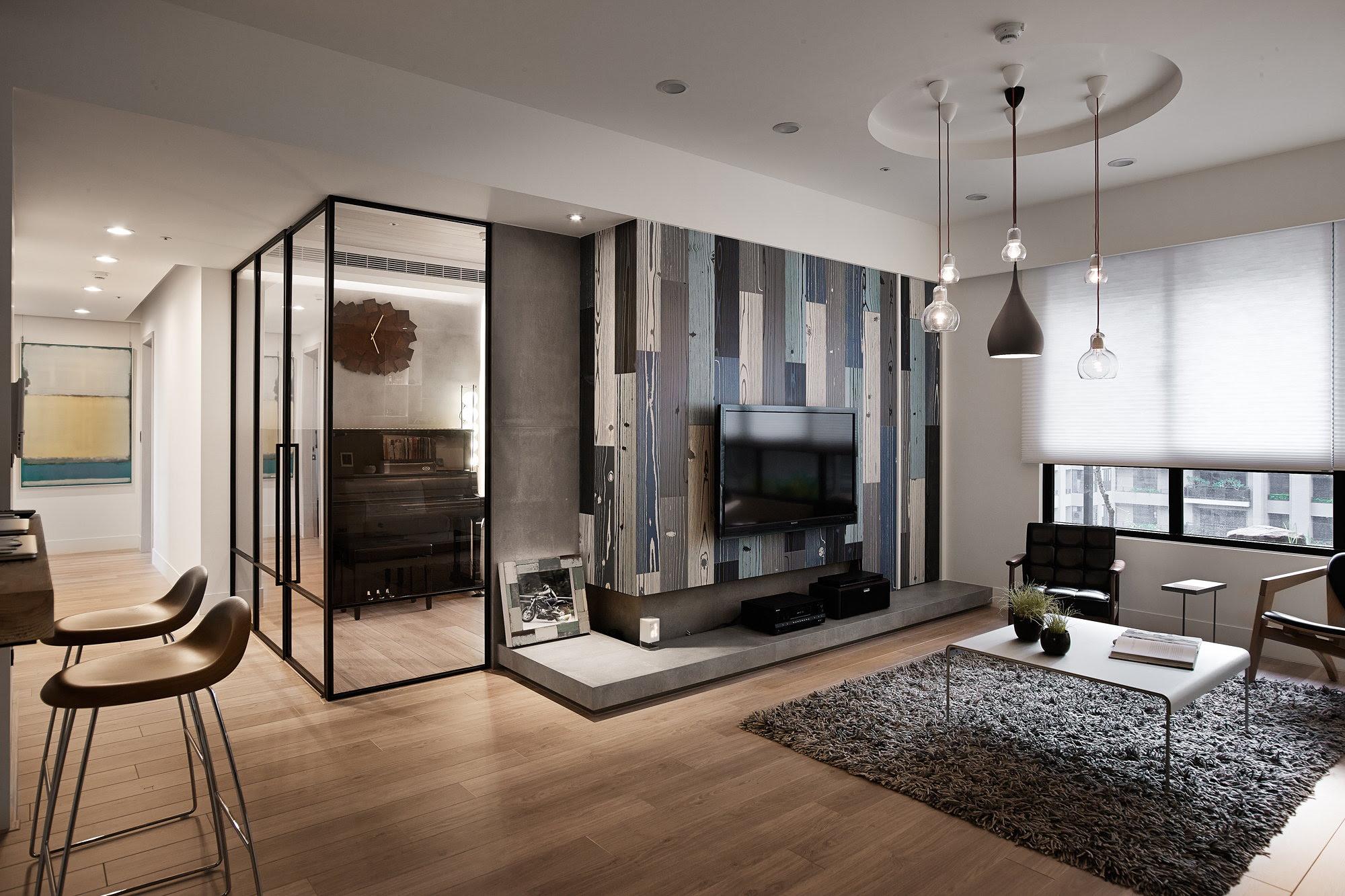 Modern Apartment In European Style In Taiwan From Fertility Design Studio 1