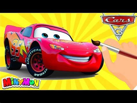 arabalar  simsek mcqueen boyama keceli kalem youtube