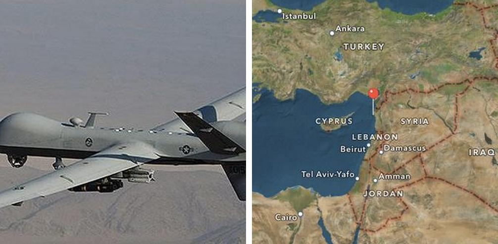 drone syria