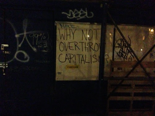 """Why not overthrow capitalism"""