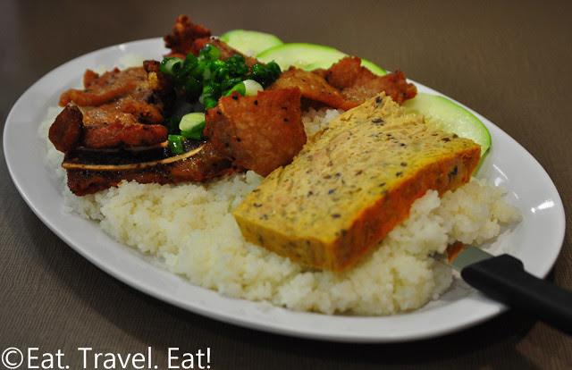 Golden Deli- Temple City, CA: Com Tam (w/ Pork Chop (2) and Baked Egg)