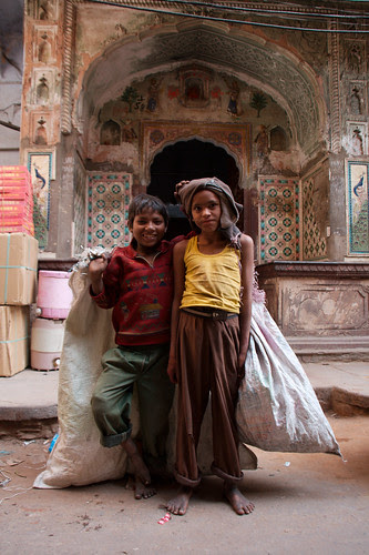 Children of Jaipur
