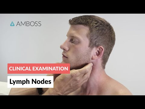 Examination of the Lymph Nodes - Medical Examination