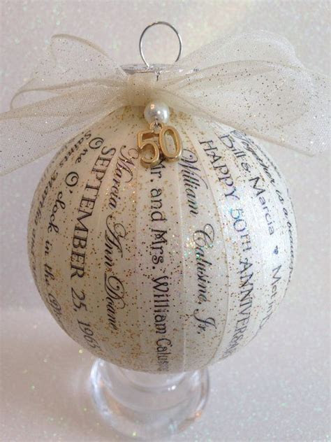 50th Anniversary Gift Handmade by HappyThoughtsbyKelly on