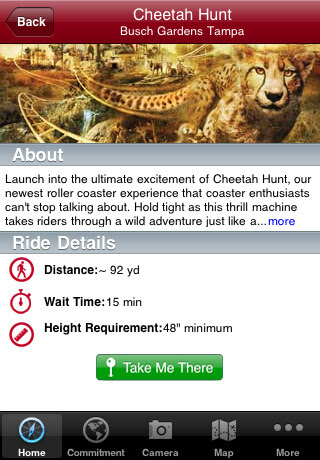 Busch Gardens Tampa Bay Launches Iphone App With Ride Wait Times Gps Interactive Map Inside The Magic