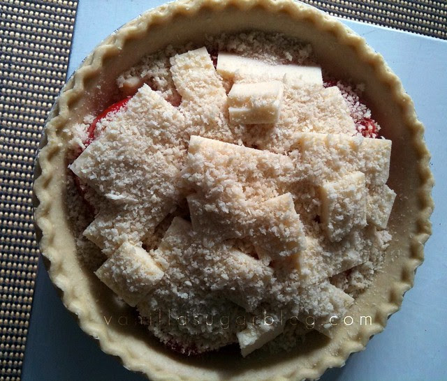 the infamous tomato pie now with panko
