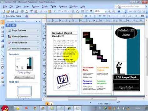 contoh brosur microsoft publisher disclosing  mind