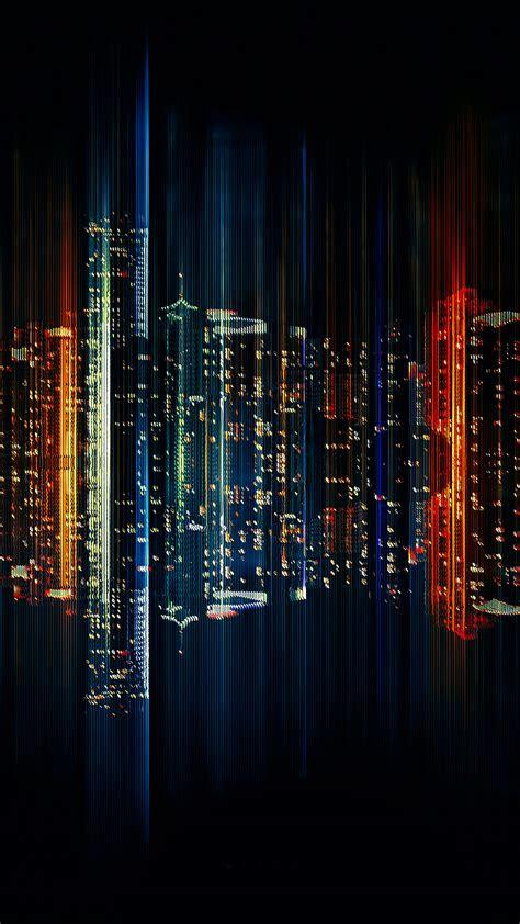 bb miami dark city illustration art wallpaper
