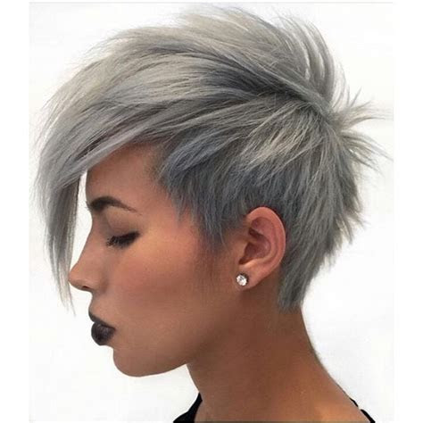 cute easy short pixie cuts  oval faces styles weekly