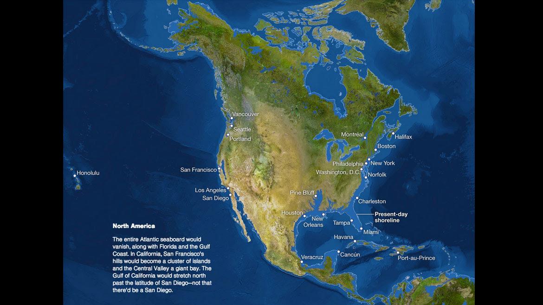 Los efectos del calentamiento global y el derretimiento de los glaciares en América del Norte