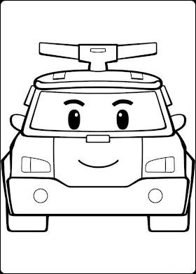 Sketsa Mobil Tayo