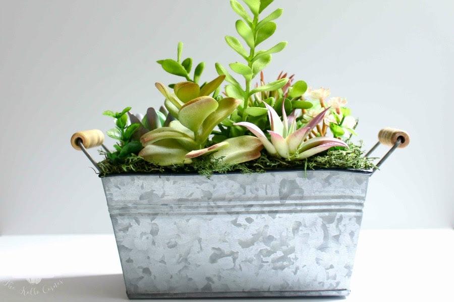 DIY Faux Succulent Planter (1 of 1)