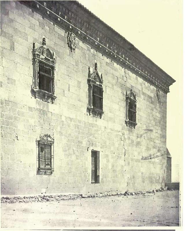 Hospital de Santa Cruz. Fotografía de Austin Whittlesey a comienzos del siglo XX. © University of Toronto