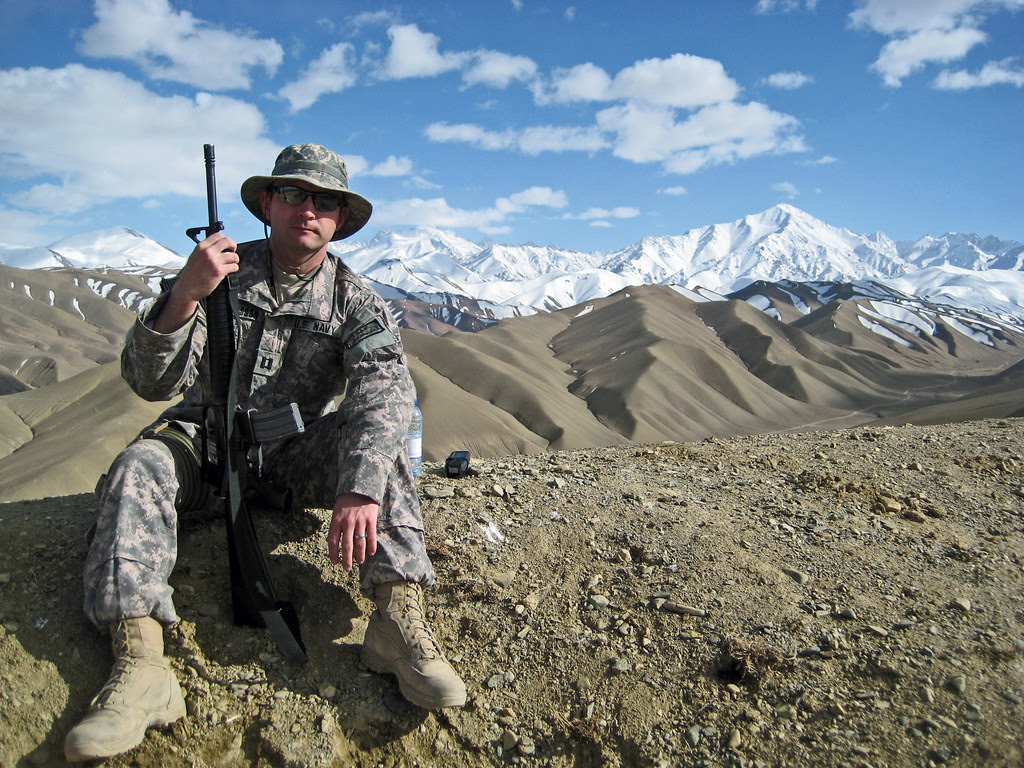 LT Thorsson in Afghanistan