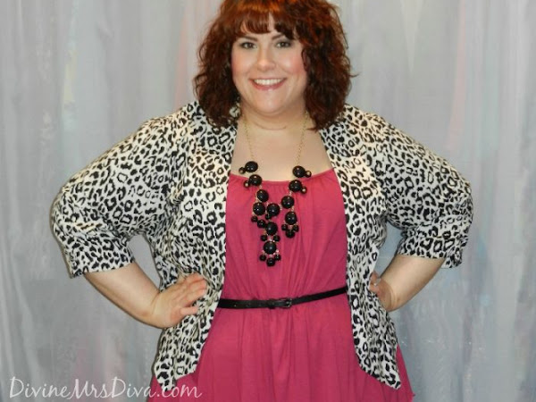What I Wore: Pink and Leopard