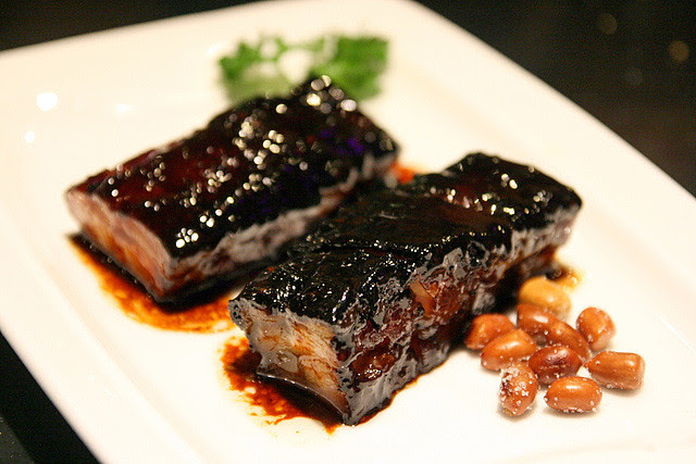 BBQ Pork Belly with Honey Sauce