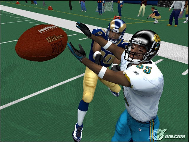 I didnt see a change in NFL 2k5.  IGN Boards