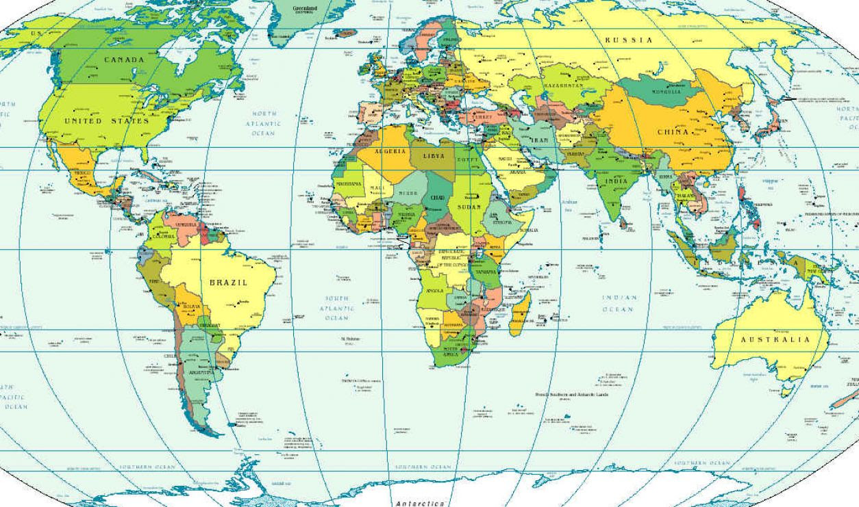 world map with continents and countries 25 Best World Map Continents And Countries Printable world map with continents and countries