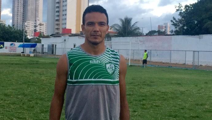 Alecrim - Carlos Mipibu, volante (Foto: Luiz Henrique/GloboEsporte.com)