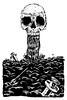 skull poster (by aziritt)