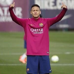 "Neymar ""Tá tranquilo, tá favorável"" treino Barcelona (Foto: Reprodução Instagram)"