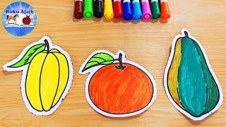 Learn Drawing Coloring Rabbit And Carrot Belajar Menggambar