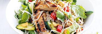 Chicken, Noodle And Cashew Salad