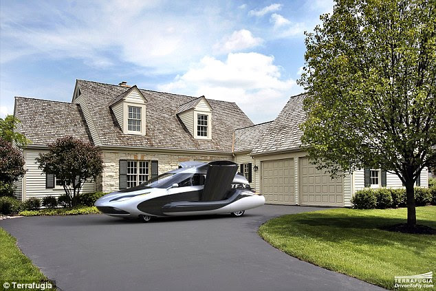 TF-X vehicles will be capable of automatically avoiding other air traffic, bad weather, and restricted and tower-controlled airspace. It can also be parked outside a home like an ordinary car