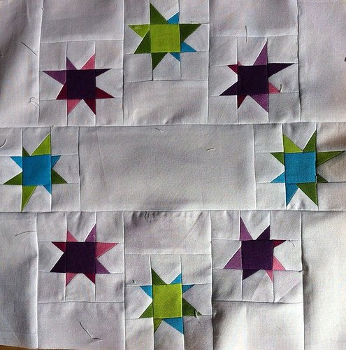 Ring of Stars block for do. Good Stitches