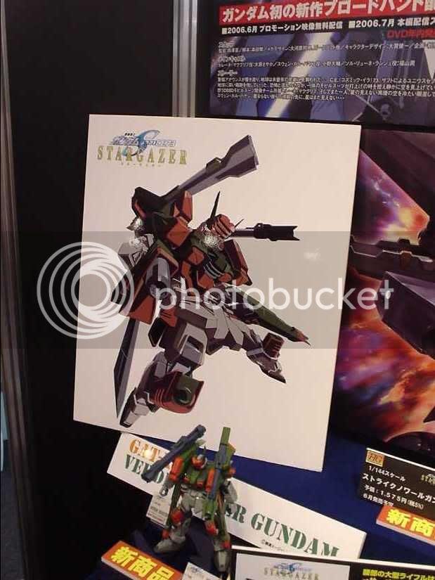Buster Gundam Kai, from Stargazer