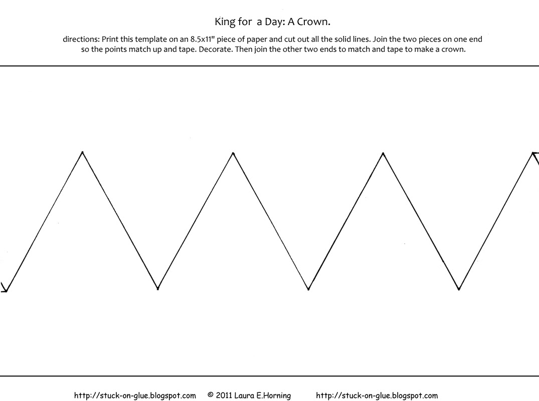 Printable Paper King Crown | Getting Started Guide Sample Voicemail