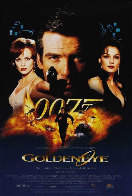 James Bond 007 GoldenEye Poster