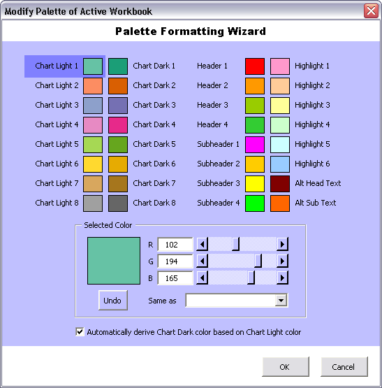 Using Colors in Excel Charts - Peltier Tech Blog