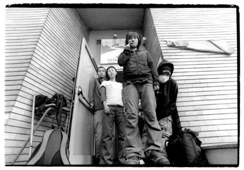 unhip_records 拍攝的 MURATO Melt Banana  26.10.05。